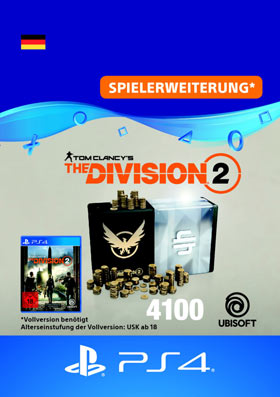 Tom Clancy's The Division 2: 4100 Premium Credits Pack - Playstation