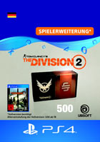 Tom Clancy's The Division 2: 500 Premium Credits Pack - Playstation