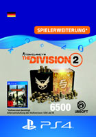 Tom Clancy's The Division 2: 6500 Premium Credits Pack - Playstation