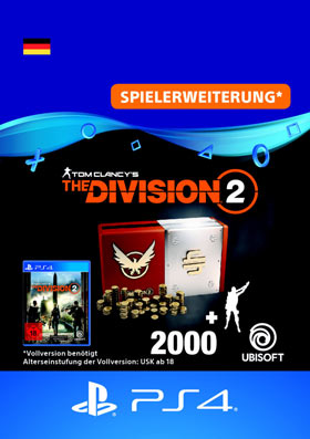 Tom Clancy's The Division 2: Welcome Pack - Playstation