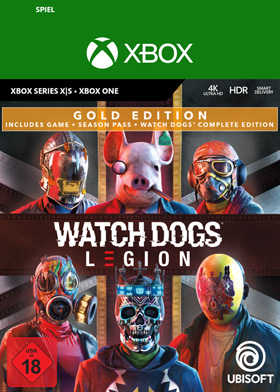 Watch Dogs Legion Gold Edition - Xbox Code