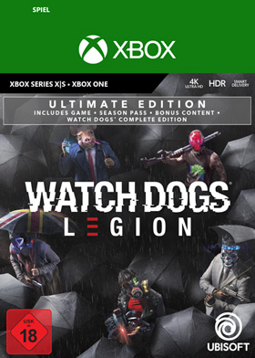Watch Dogs Legion Ultimate Edition - Xbox Code