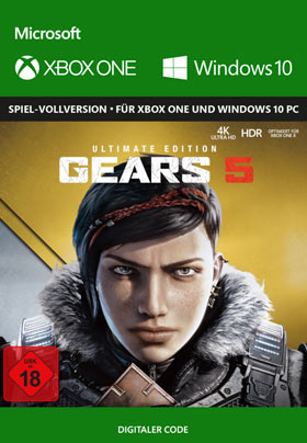 Gears of War 5 Ultimate Edition - Xbox One Code & Windows 10