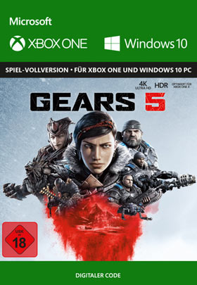 Gears of War 5 - Xbox One Code & Windows 10