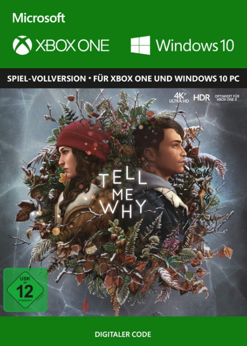 Tell Me Why - Xbox One Code & Windows 10