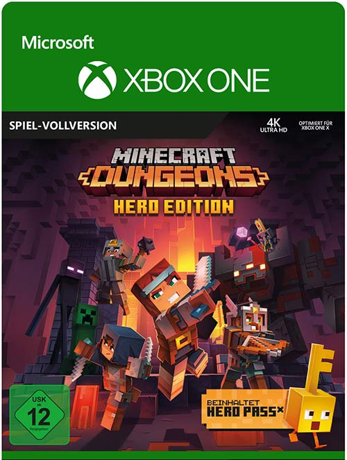 Minecraft Dungeons: Hero Edition - Xbox One Code