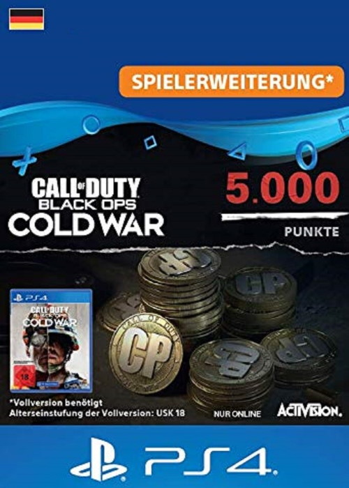 5000 Call of Duty®: Black Ops Cold War Punkte