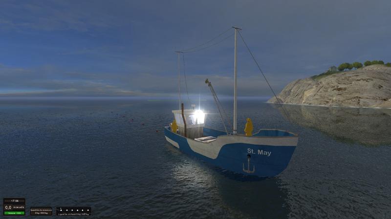 bateau de peche jeux