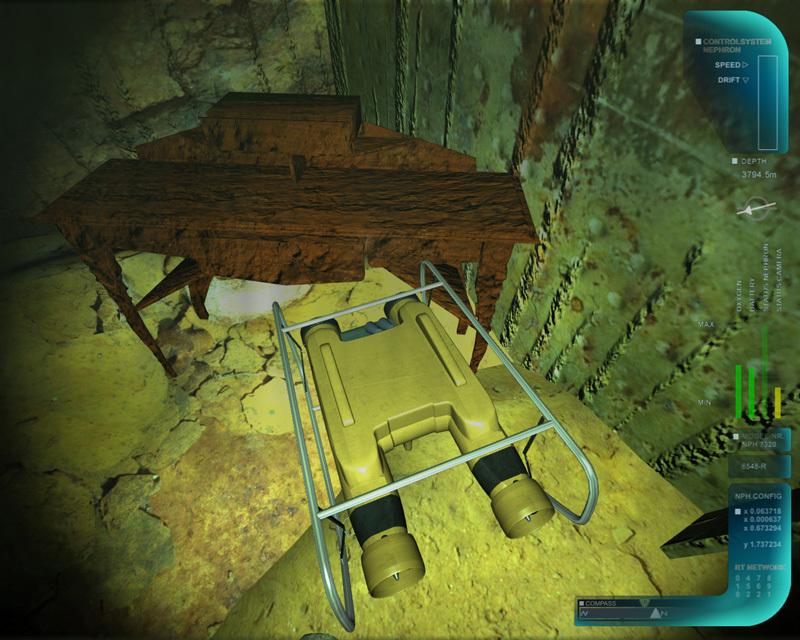 - Titanic Underwater Operations Simulator