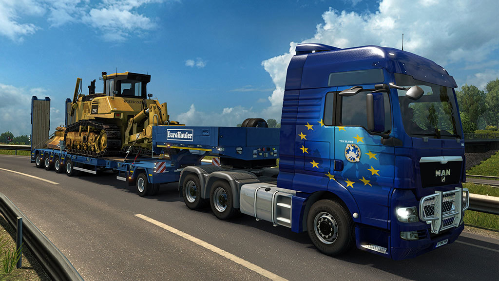 euro truck simulator 2 heavy cargo pack dlc game aldi life. Black Bedroom Furniture Sets. Home Design Ideas