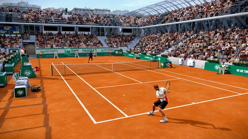 tennis world tour roland garros edition game aldi life. Black Bedroom Furniture Sets. Home Design Ideas