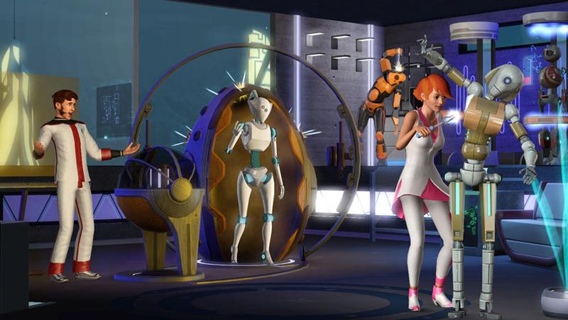 Les Sims 3 : En Route Vers Le Futur (PC - Mac) - Image 2
