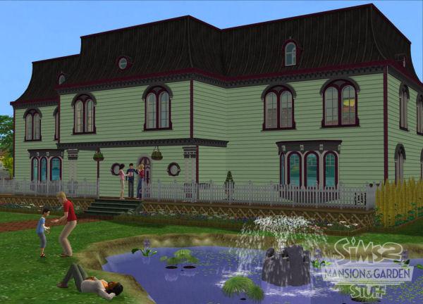 Sims 2 mansiones y jardines for Sims 2 mansiones y jardines