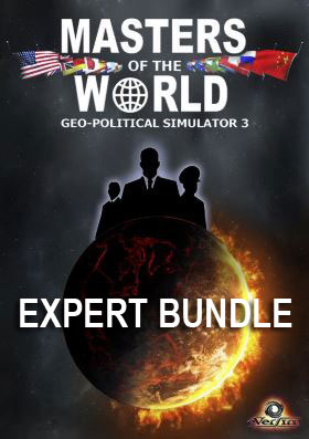 Masters of the World - Geo-Political Simulator 3 - Expert Bundle