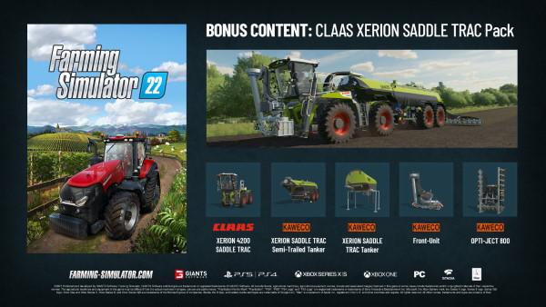 Landwirtschafts-Simulator 22 bonus