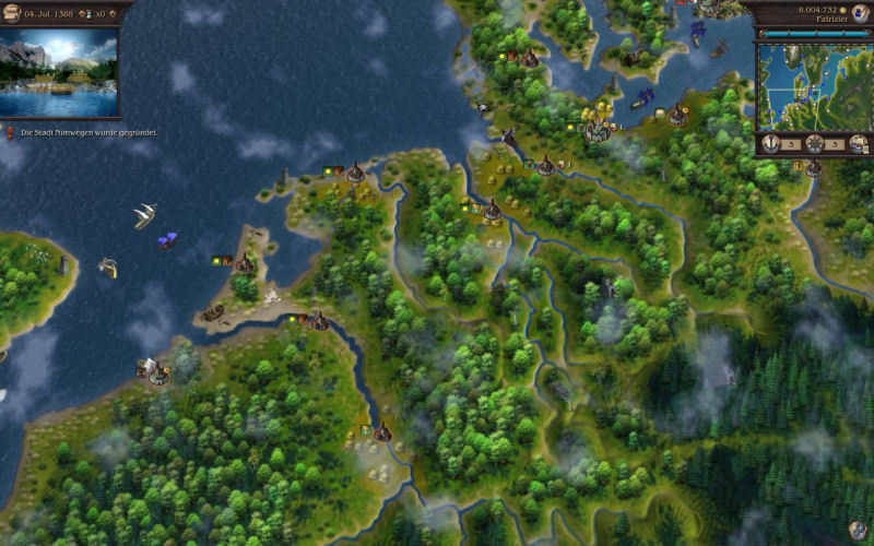 Screenshots di Patrician IV - GOLD Edition