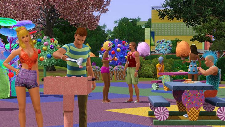 Capture d'écran Les Sims 3 : Katy Perry Délices Sucrés