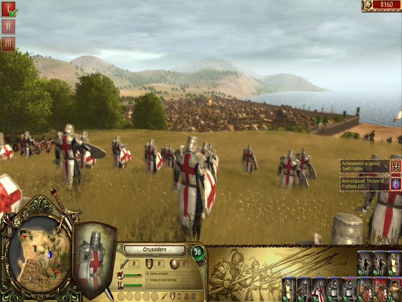 Screenshots di The King's Crusade