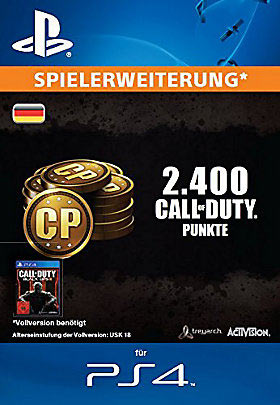 2.400 Call of Duty®: Black Ops III-Punkte - Playstation