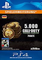 5.000 Call of Duty®: Modern Warfare® Remastered-Punkte - Playstation