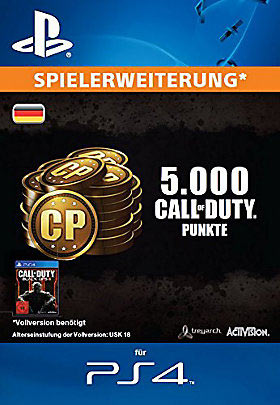 5.000 Call of Duty®: Black Ops III-Punkte - Playstation