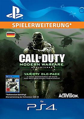 CALL OF DUTY®: MWR-VARIETY-DLC-PACK (EN/DE) - Playstation