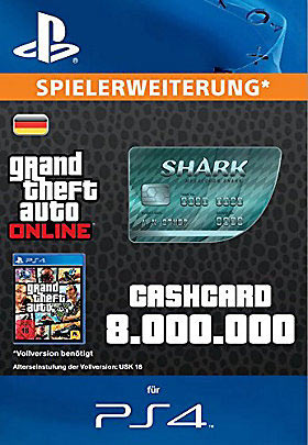 CashCard 'Megalodon' - Playstation