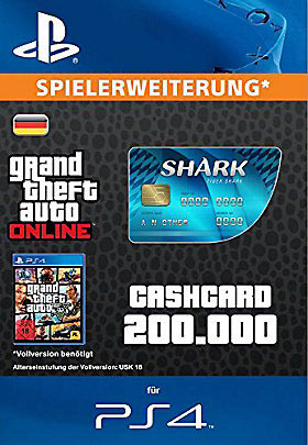 CashCard 'Tigerhai' - Playstation