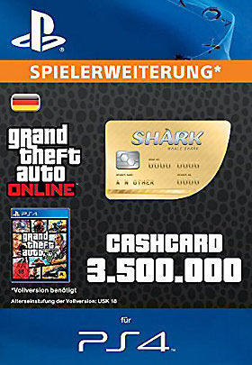 CashCard 'Walhai' - Playstation