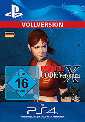 Resident Evil Code: Veronica X - Playstation