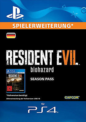 RESIDENT EVIL 7 biohazard Season Pass - Playstation