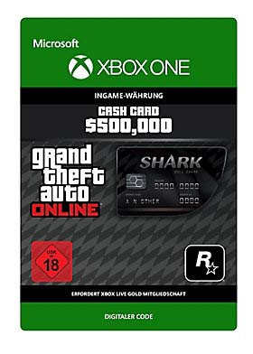 Grand Theft Auto V: Bull Shark Cash Card - Xbox One Code