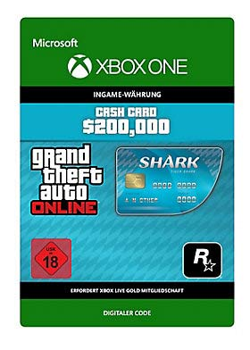 Grand Theft Auto V: Tiger Shark Cash Card - Xbox