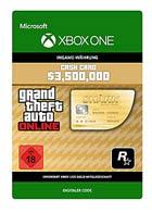Grand Theft Auto V: Whale Shark Card - Xbox One Code