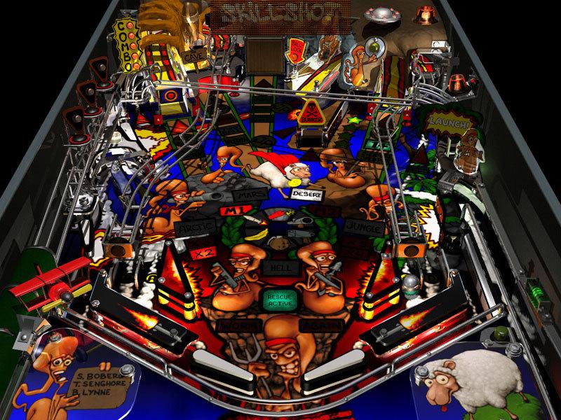 Screenshots di Worms Pinball