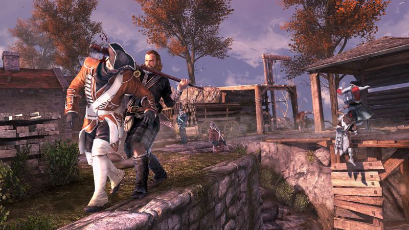 Capture d'écran Assassin's Creed III - Le Pack Une Bataille Impitoyable